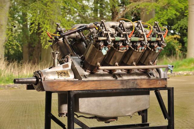 1918 Curtiss OX Series 5 V8 Aero Engine  Engine no. 11714