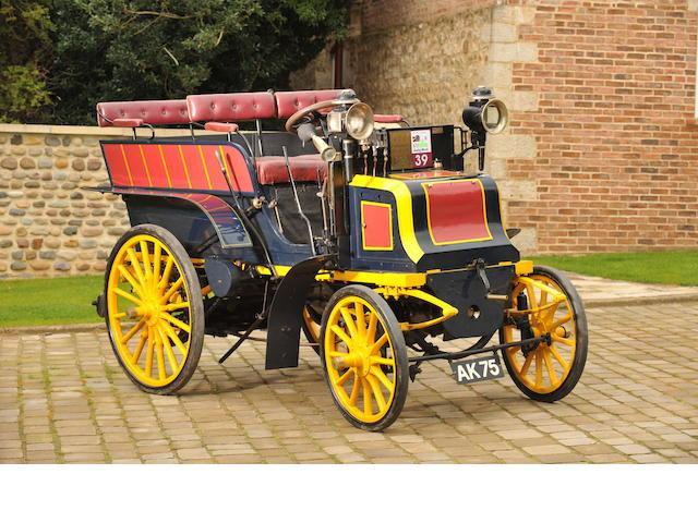 1899 Panhard-Levassor Type M2F 6hp Wagonette,