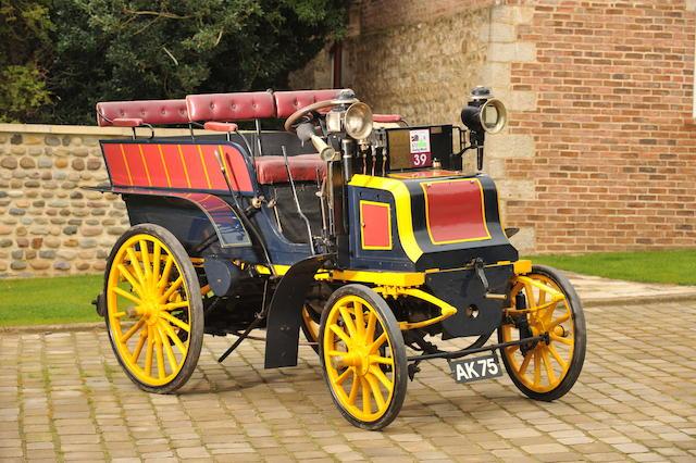 1899 Panhard-Levassor Type M2F 6hp Wagonette  Chassis no. 1510 Engine no. 1510