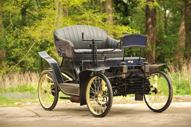 1900 Decauville 5hp Twin-cylinder Vis-à-vis Voiturelle  Engine no. 1002