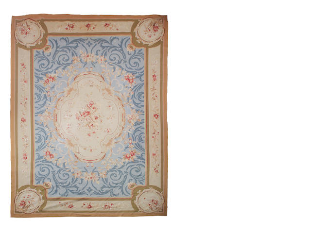 An Aubusson carpet 550cm x 359cm