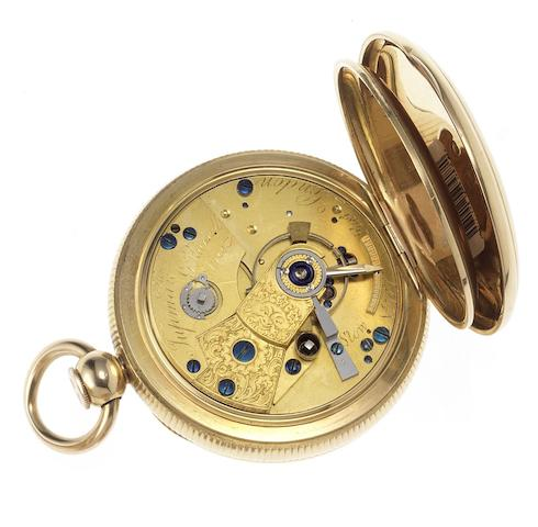 James Tupman. A fine early 19th century 18ct gold quarter repeating Duplex pocket watch London Hallmark for 1815