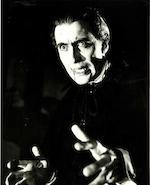 Christopher Lee as Dracula from Dracula (aka Horror of Dracula), 1958