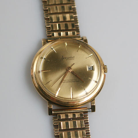 Accurist: A gentlemans wristwatch,