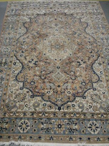 A Ghom rug Central Persia, 203cm x 133cm