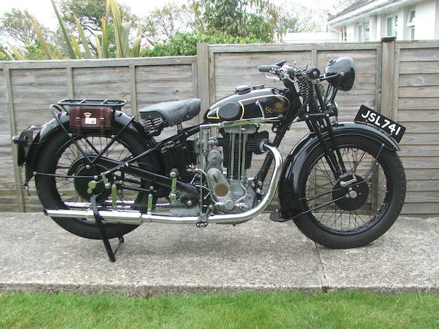 1935 Sunbeam 9A,
