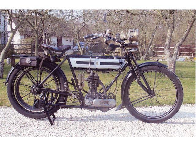 1913 Triumph 3½hp  Frame no. 216138 Engine no. 27320