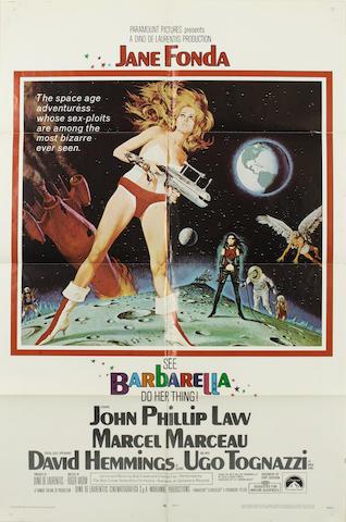 Barbarella, Paramount Pictures, 1968,