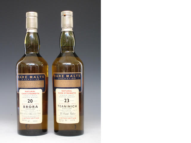 Brora-20 year old-1975Teaninich-23 year old-1973