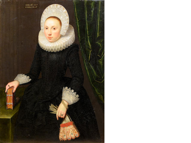 Gortzius Geldorp (Louvain 1553-1618 Cologne) Portrait of Susan Hoste,
