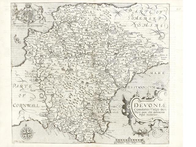 CAMDEN (WILLIAM) Britannia, sive florentissimorum regnorum angliae, scotiae, hiberniae, et insularum adiacentium ex intima antiquitate chorographica descriptio