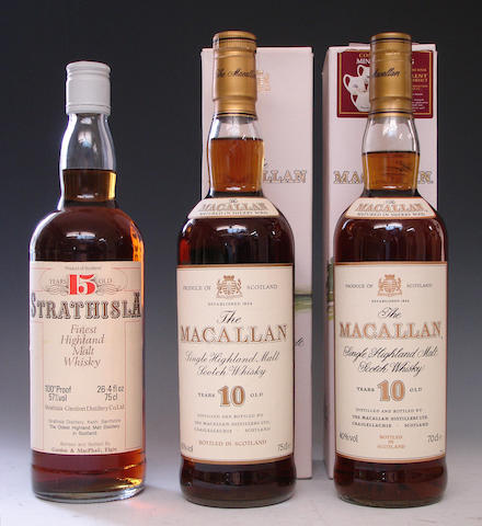 Strathisla-15 year oldThe Macallan-10 year old (2)