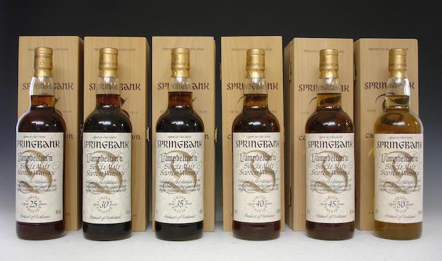 Springbank-25 year oldSpringbank-30 year oldSpringbank-35 year oldSpringbank-40 year oldSpringbank-45 year oldSpringbank-50 year old