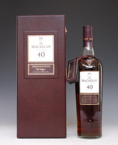 The Macallan-40 year old