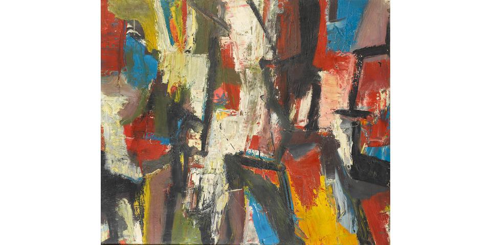 David Chapin (American, born 1919) 'Storm', 1958