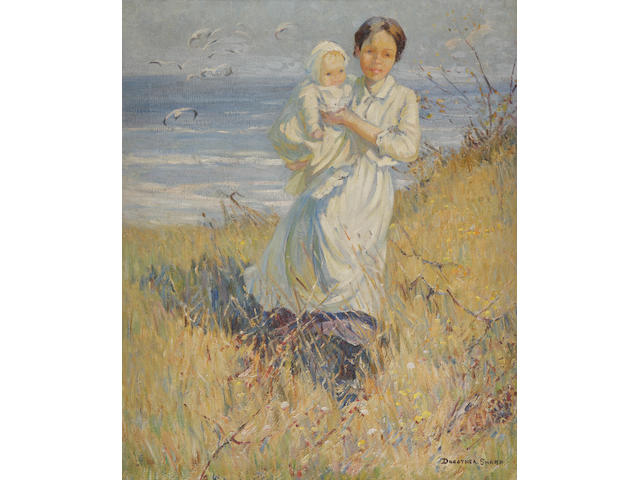 Dorothea Sharp (British, 1874-1955) Mother and Child