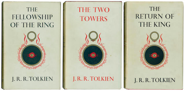 TOLKIEN (J.R.R.) The Lord of the Rings, 3 vol.