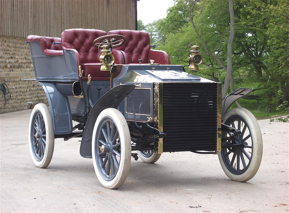1903/4 White Steamer 10hp Rear-entrance Tonneau  Chassis no. 1598 Engine no. C1164