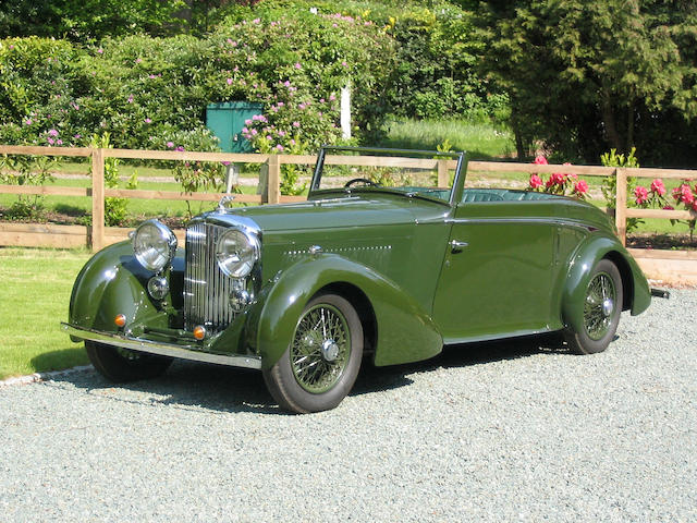 1935 Bentley 3.5-Litre Drophead Coupé  Chassis no. B72AH Engine no. G4BT