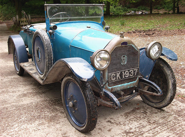 c.1922 Vinot et Deguingand 15/20hp Type BO Two-seater with Dickey  Chassis no. 19595 Engine no. 5933