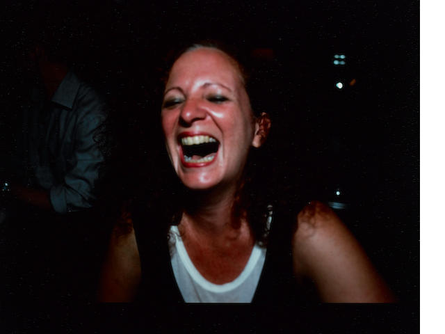 Nan Goldin (American, born 1953) 'Self Portrait Laughing, Paris', 1999