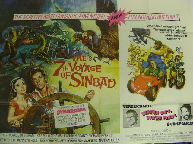 A collection of twenty-four comedy, historical, romance, adventure and children's film posters, all being U.K. Quads, titles including:24