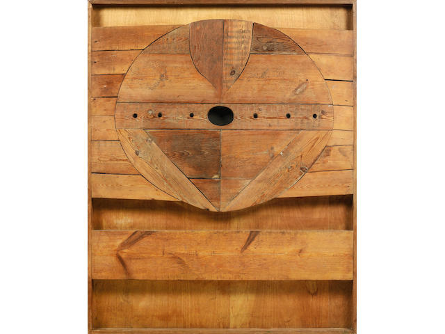 Joe Tilson RA (British, born 1928) Wood Relief No. 20 152.5 x 122 cm. (60 x 48 in.)
