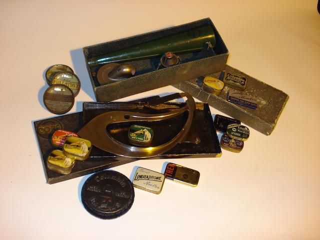 Gramophone accessories:
