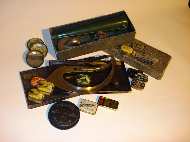Gramophone accessories: