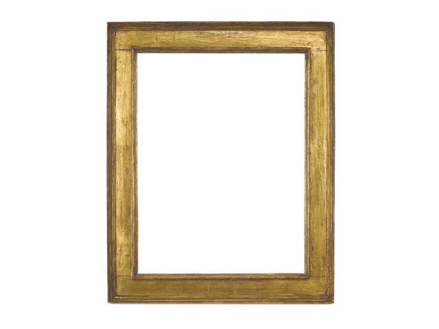 A Italian 16th/early 17th Century gilded cassetta frame