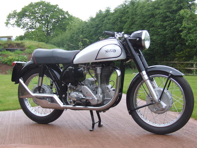 1958 Norton 490cc International Frame no. 77675 11N Engine no. 77675 11N