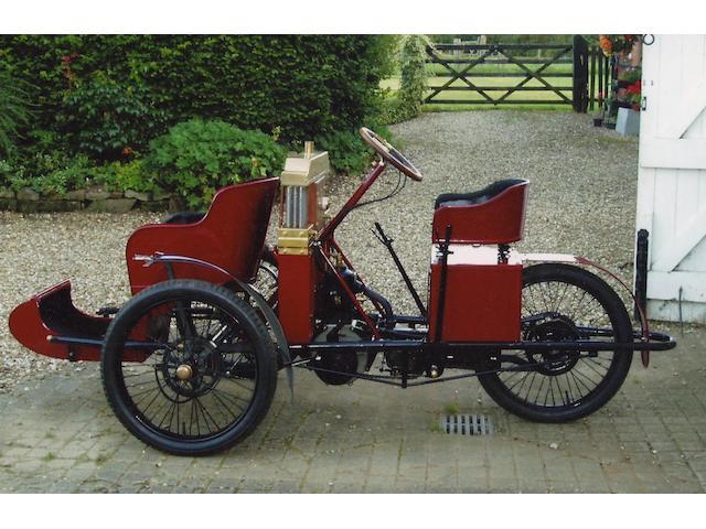 1905 Invicta 636cc Forecar  Frame no. 550 Engine no. 550