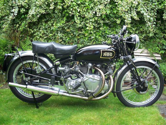 1947 Vincent-HRD 998cc Rapide Frame no. R2062 Engine no. F10AB/1/63