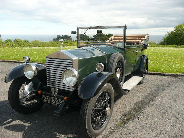 1929 Rolls-Royce 20hp Enclosed Cabriolet  Chassis no. GFN 35 Engine no. D9A