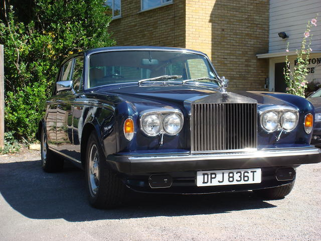 1979 Rolls-Royce Silver Shadow II Saloon  Chassis no. to be advised Engine no. to be advised