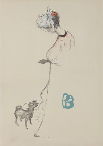 Pierre Bonnard (French, 1867-1947) Le Salon des Cent Lithograph, 1896, poster for the 23rd group exh