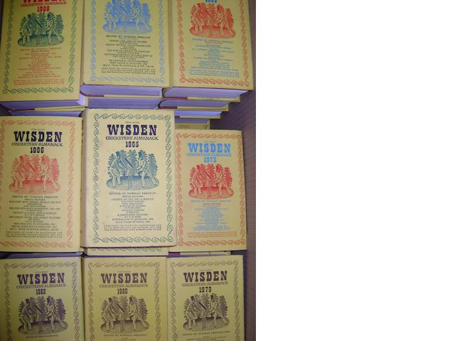 Wisden Cricketer's Almanacks 1942 - 2004