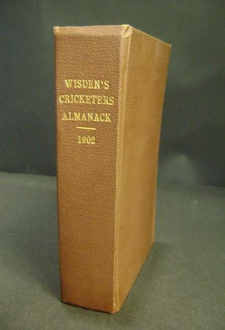 1902 Wisden Cricketer's almanack