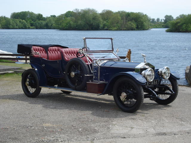 1912 Rolls-Royce 40/50hp Silver Ghost 'Roi-de-Belges' Tourer  Chassis no. 1995E Engine no. 1637