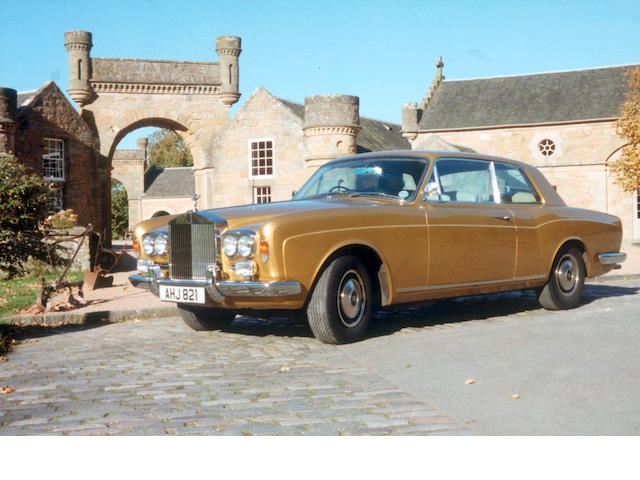 1972 Rolls-Royce Corniche Coupé  Chassis no. CRH12709 Engine no. 12709