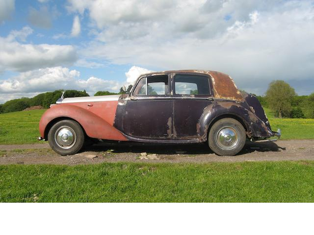 1949 Rolls-Royce Silver Dawn Saloon  Chassis no. LSBA14 Engine no. LSBA74