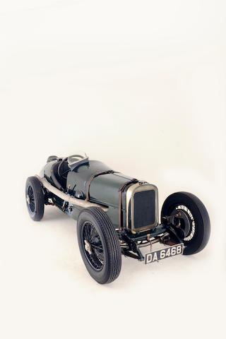 ex-Kenelm Lee Guinness, Sir Henry Seagrave, Jean Chassagne,1922 Sunbeam 2-litre Strasbourg Grand Prix Works Racing Car  Chassis no. 2.22 Engine no. 2
