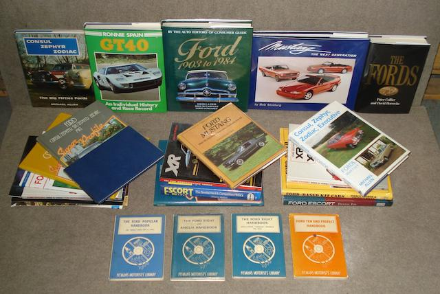 Books relating to Ford cars,