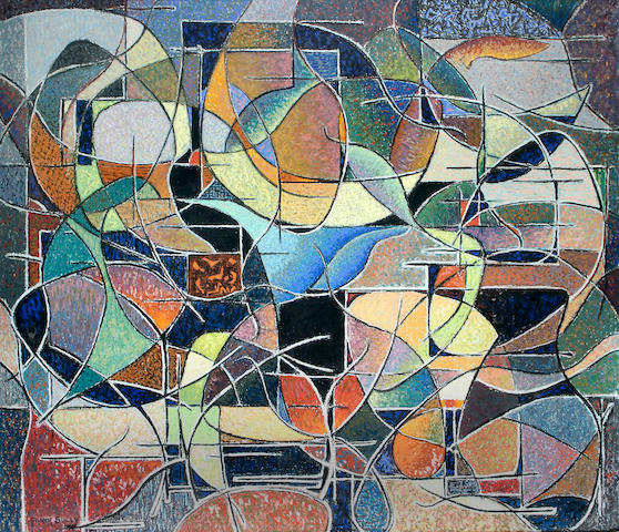 Frank Sully (British, 1898-1992) An abstract,