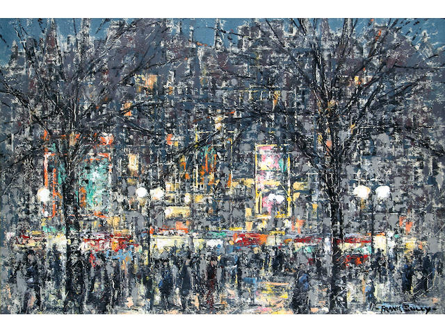 "Frank Sully (British, 1898-1992) ""Christmas Eve, Manchester"","