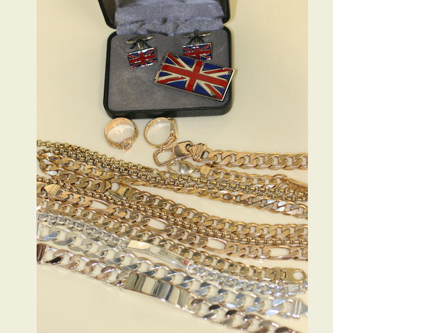 A collection jewellery
