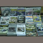 A large quantity of Grand Prix and motorsport related magazines and publications,