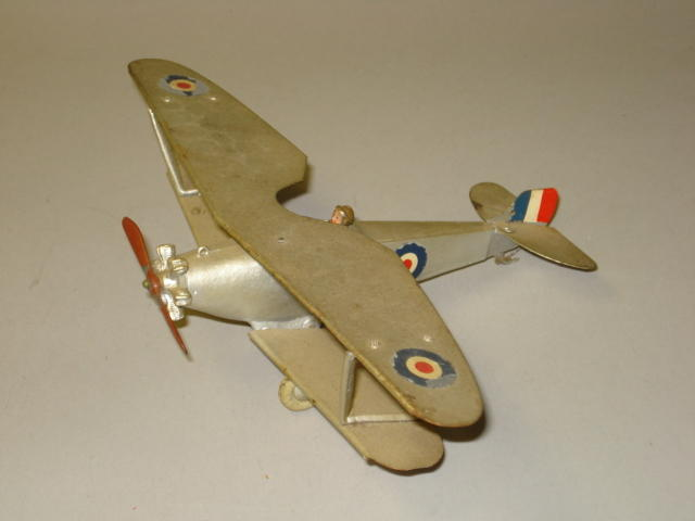 Britains set 1521, Royal Air Force Biplane 2