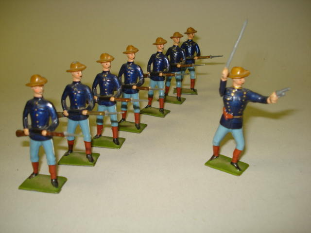 Britains set 91, U.S. Infantry 8