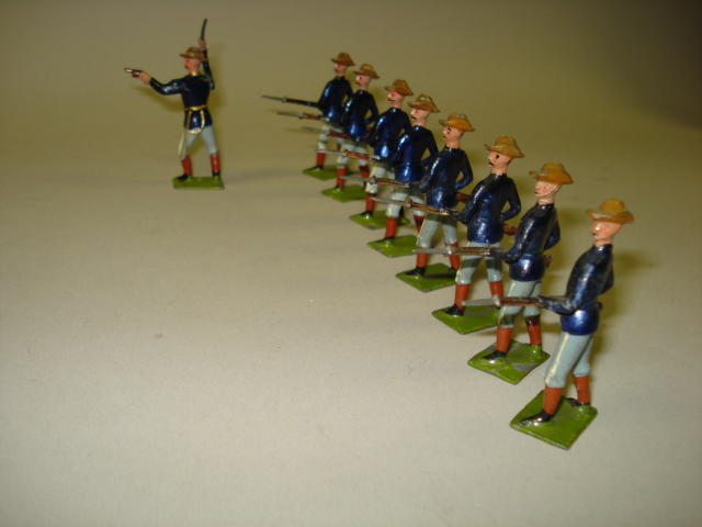 Britains set 91, U.S. Infantry 9